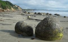 Moeraki Beach, Nový Zéland