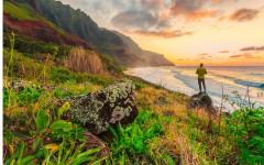 Cestovatel se může v klidu kochat přírodou