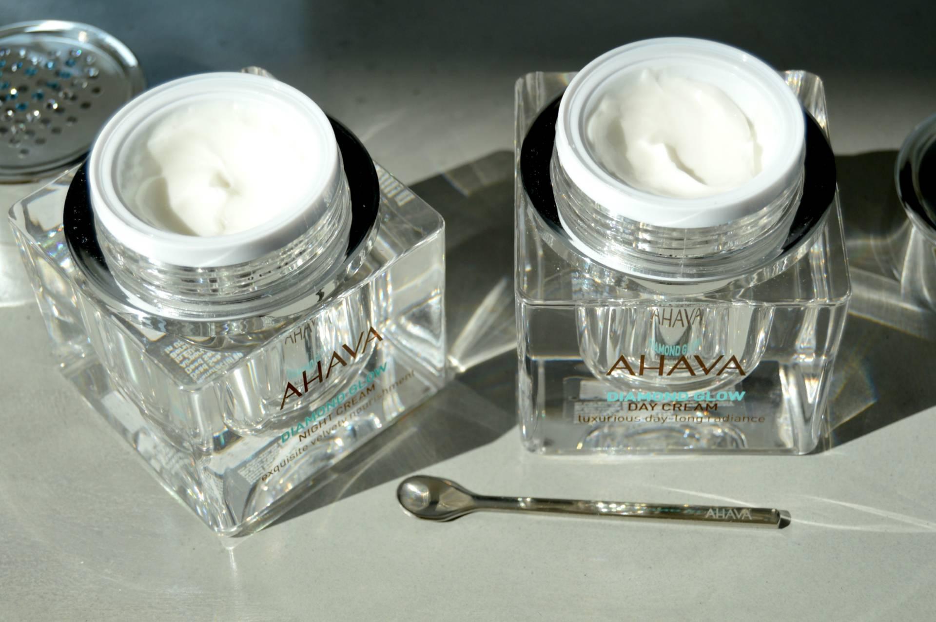 ahava-inhautepursuit-diamond-glow-face-cream-day-night-review