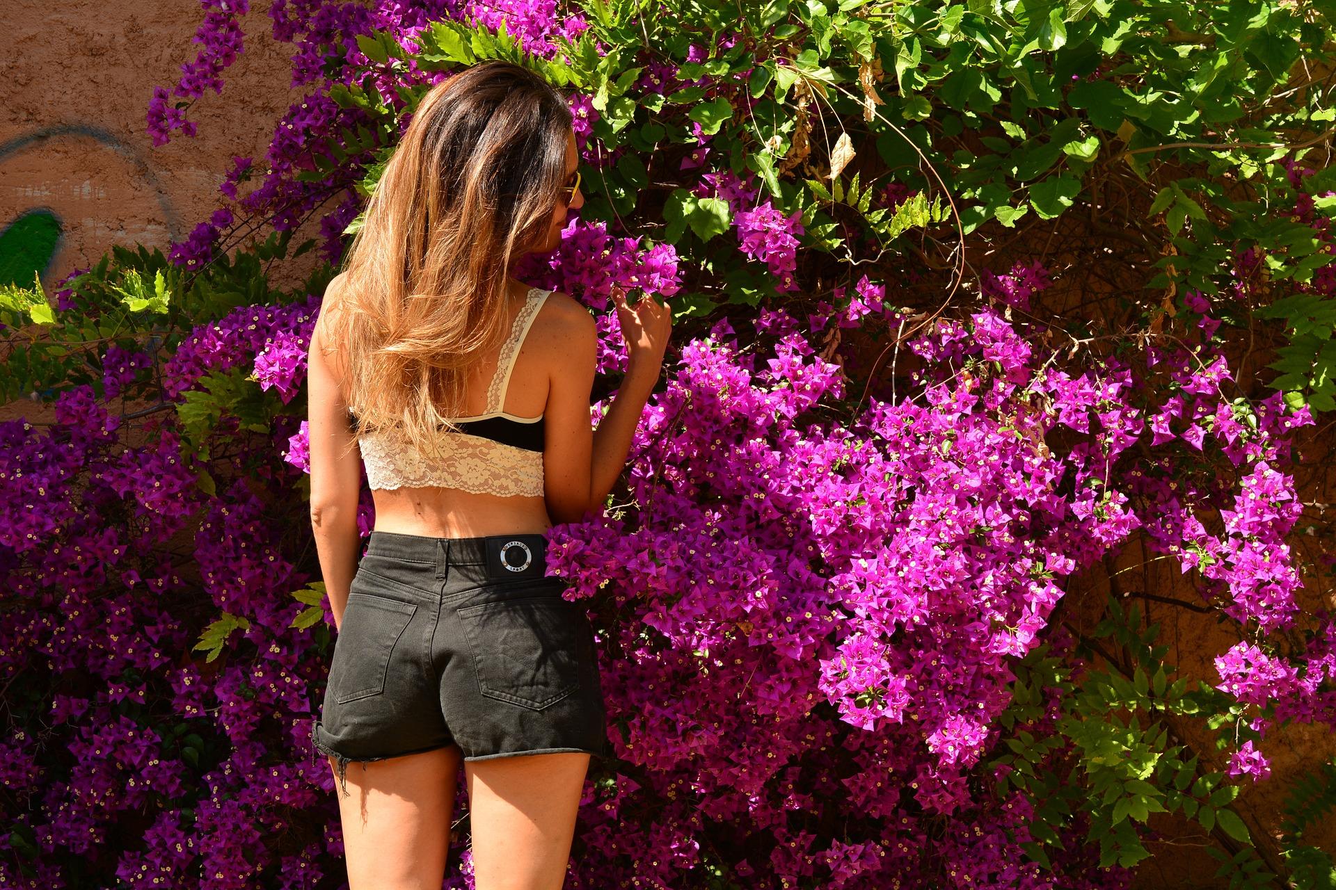 Květiny v Kostarice najdete všude