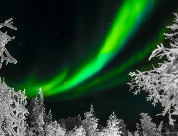 Polární záře - www.pixabay.com