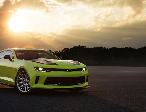 The new Camaro Turbo AutoX concept combines the LTG 2.0L turbocharged engine with a performance suspension, brake system, air intake and exhaust system. It combines the Camaro's excellent power-to-weight ratio with more agile handling that's ideal for autocross enthusiasts.