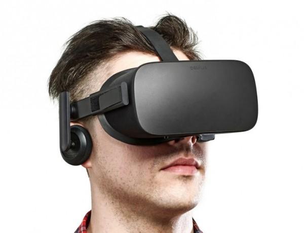 Virtuální realita Oculus Rift.