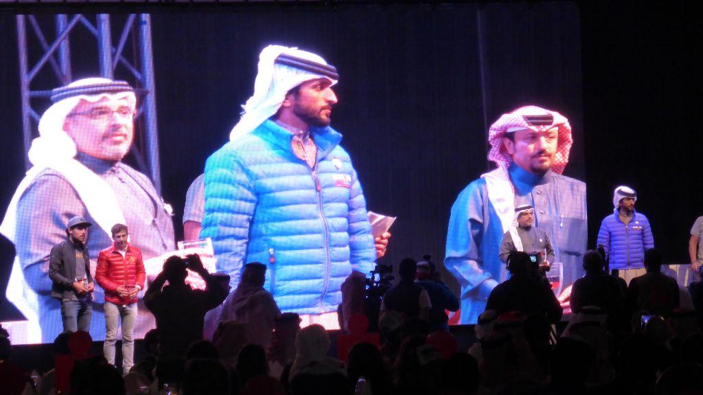 Medaile předával bahrainský princ Nasser bin Hamada Al Khalifa -  archiv Honza Tománek